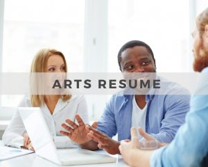 Arts Resume