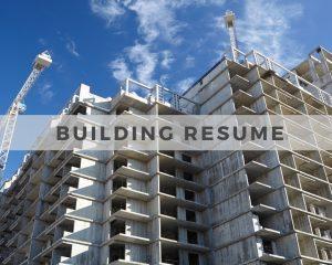 Building Resume