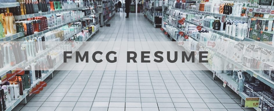 FMCG Resume