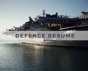 Defence Resume