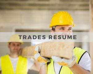 Trades Resume